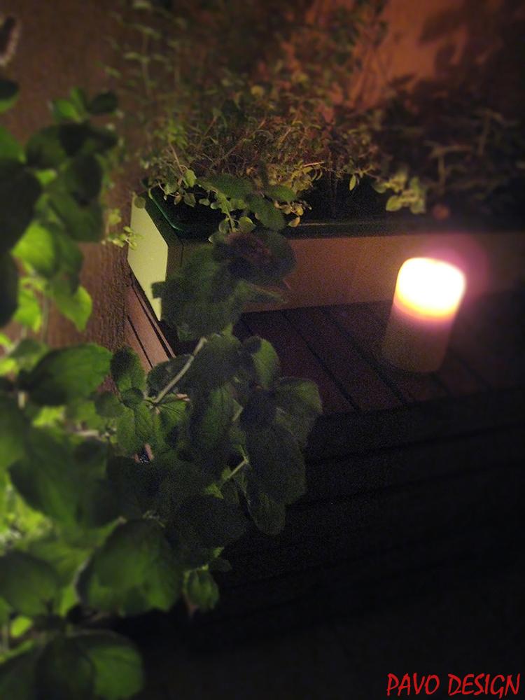 PAVO DESIGN aranżacja balkon