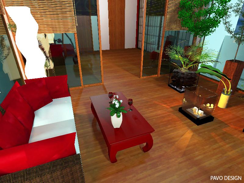 jak dobierać kolory, ogród zimowy, sypialnia japońska