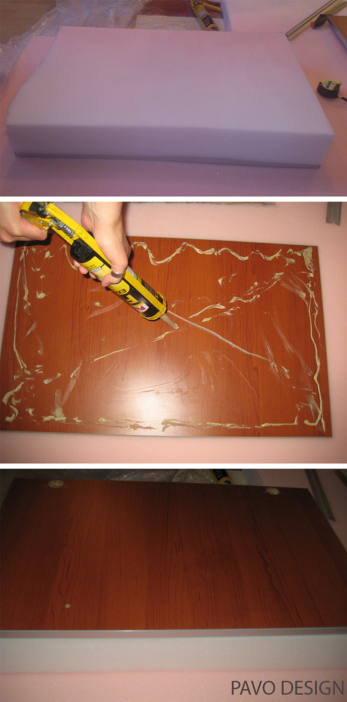 tapicerowany zagłówek łóżka, DIY, tapicerowany zagłówek