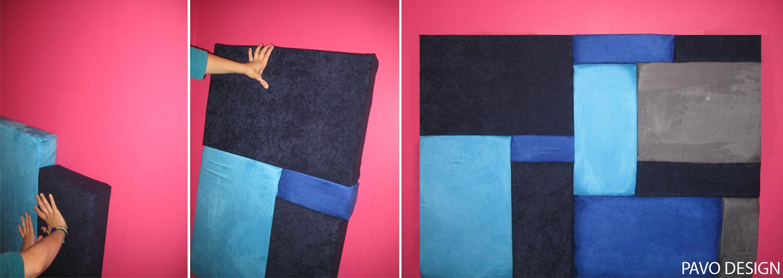 tapicerowany zagłówek łóżka, DIY, tapicerowany zagłówek łóżka