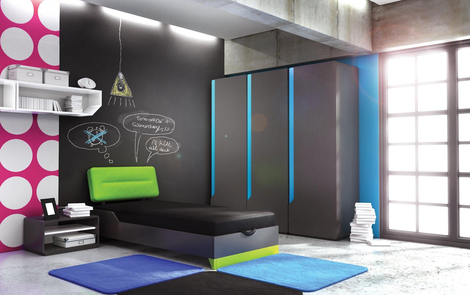 kolorowanki na ścianę, farba tablicowa