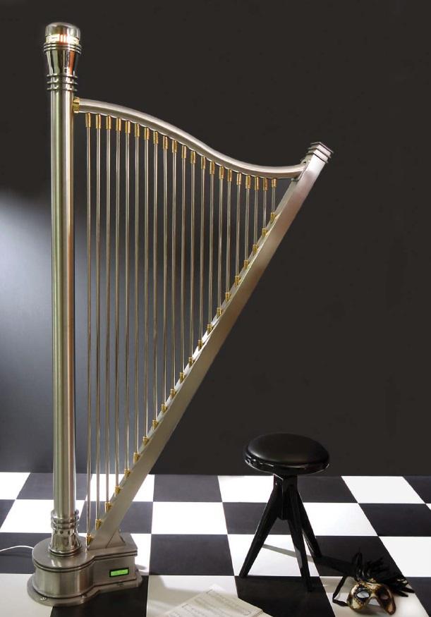 grzejnikowa rewia mody, kalmar adagio, grzejnik harfa rzeźba