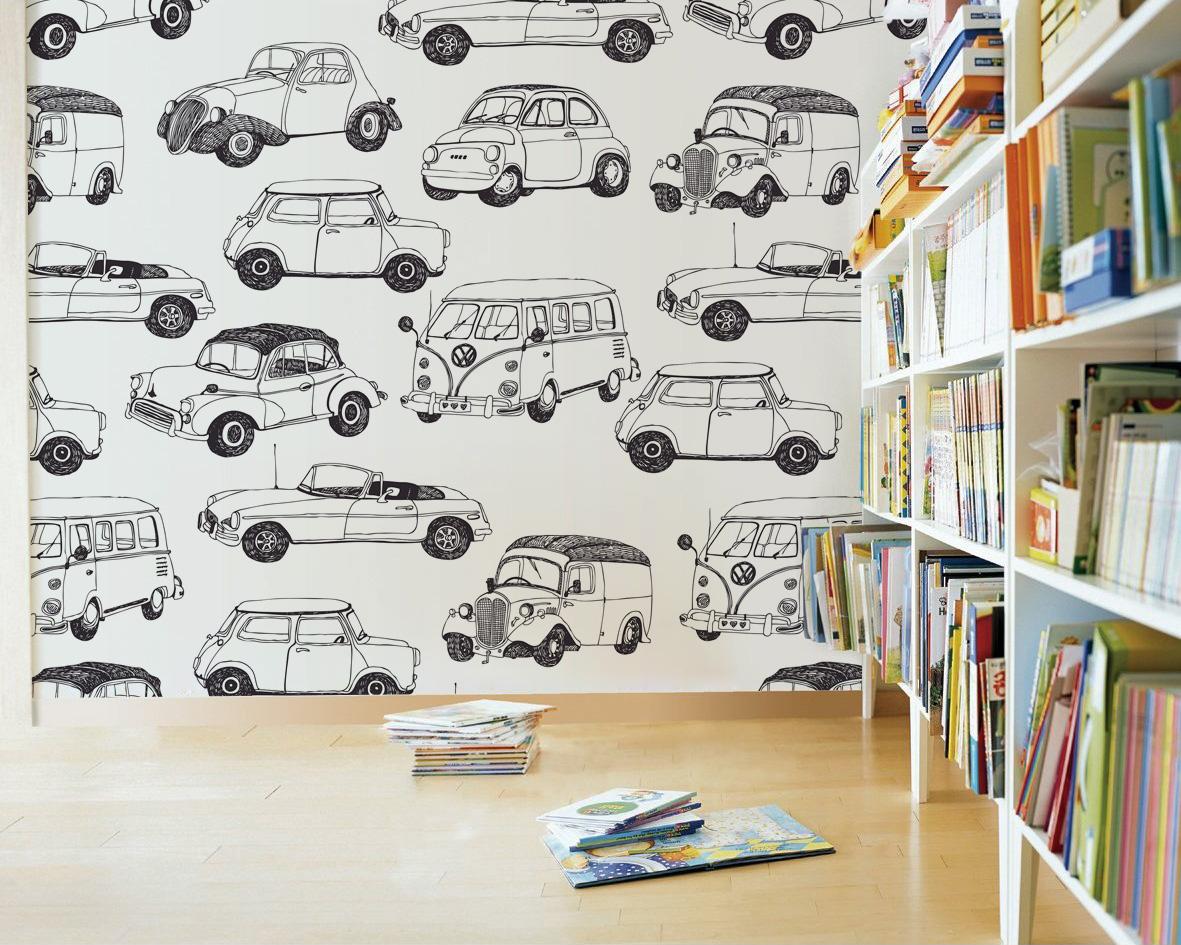 kolorowanki na ścianę, kolorowanka