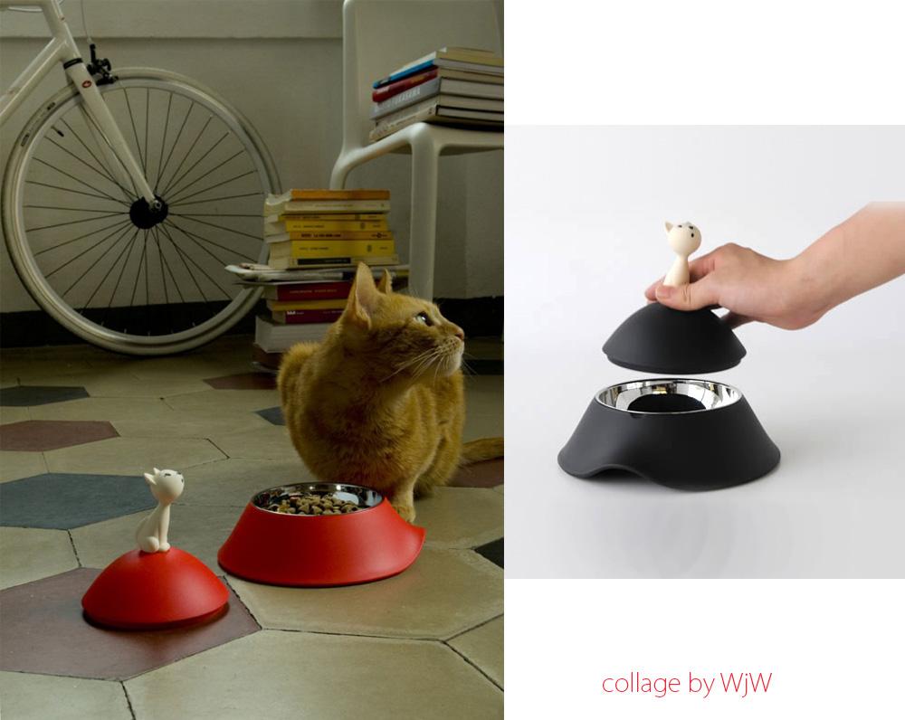 akcesoria dla psa i kota, miska dla kota mio alessi