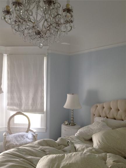 sypialnia shabby chic