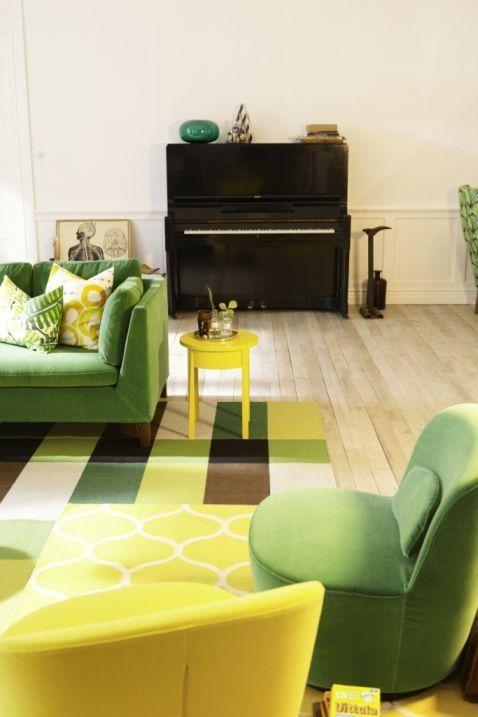 wnętrza i meble w stylu lat 50 i 60, meble inspirowane stylem lat 50