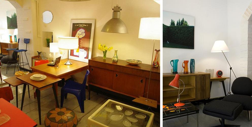wnętrza i meble w stylu lat 50 i 60, wnętrza lata 50 i 60