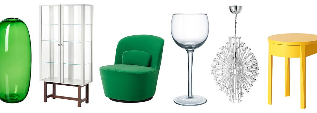 wnętrza i meble w stylu lat 50 i 60, kolekcja Ikea Stockholm, Ikea Sztokholm