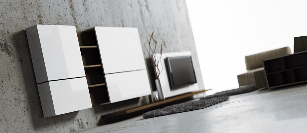 meble Bricks, meble minimalistyczne, meble kubiczne