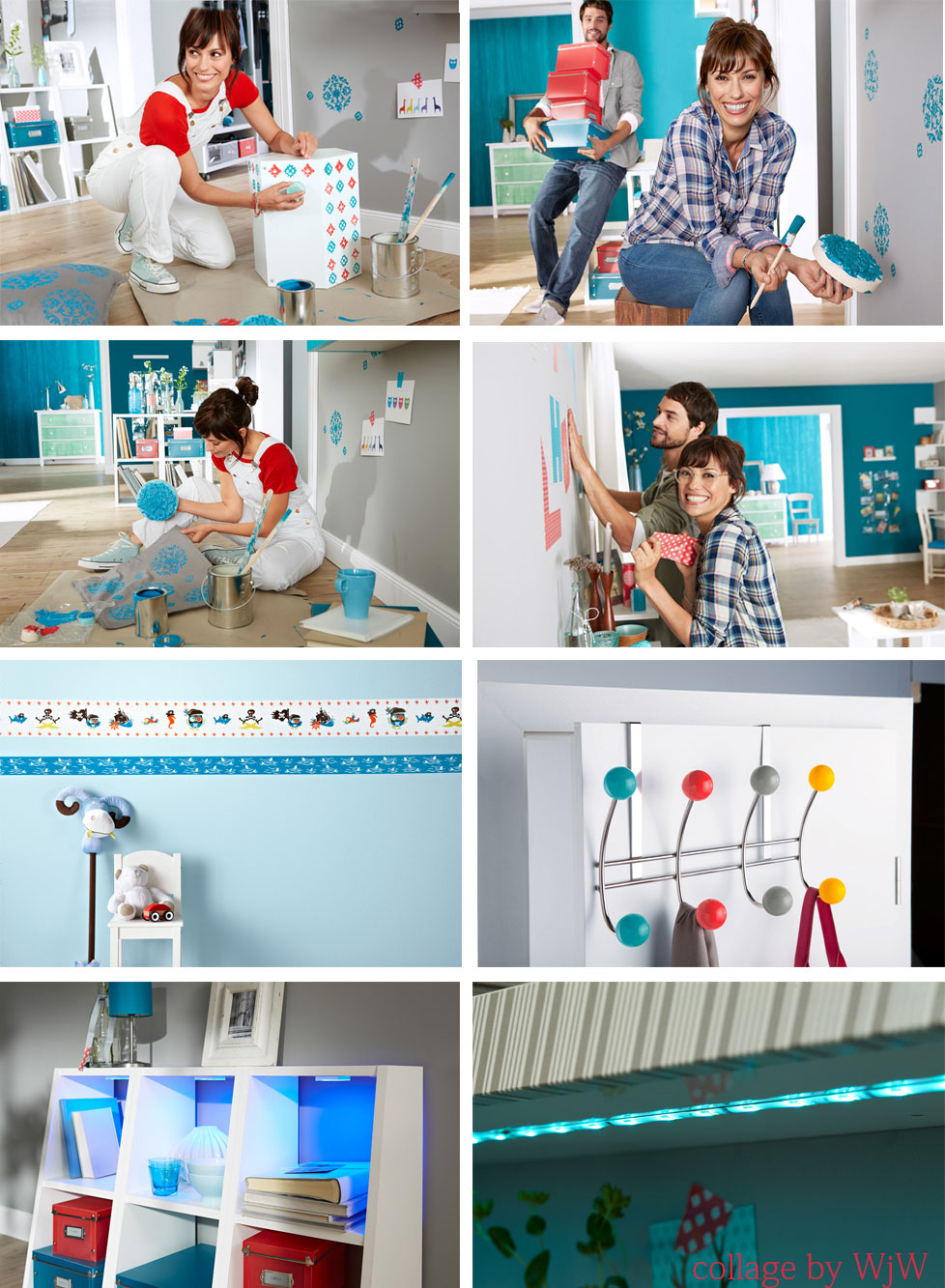 dekoracja ścian i mebli - DIY