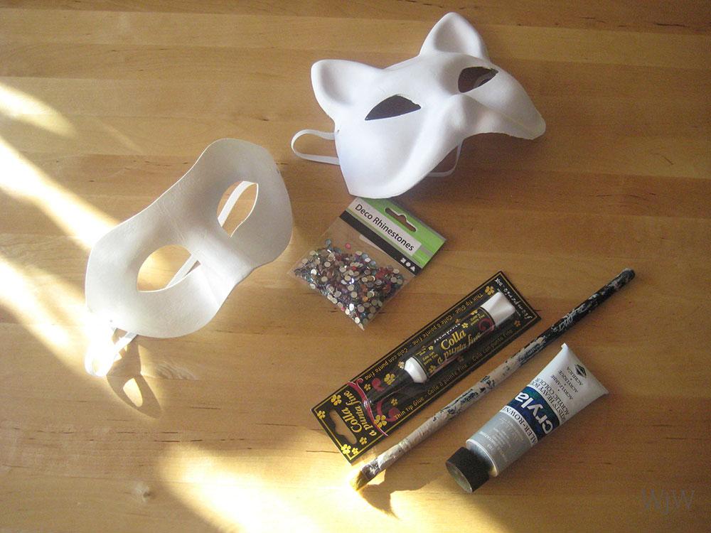 maski karnawałowe DIY