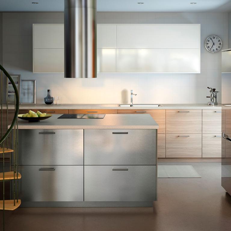 Nowe kuchnie IKEA METOD, Kuchnie IKEA  W JAK WNĘTRZE  W   -> Kuchnie Ikea Lódź