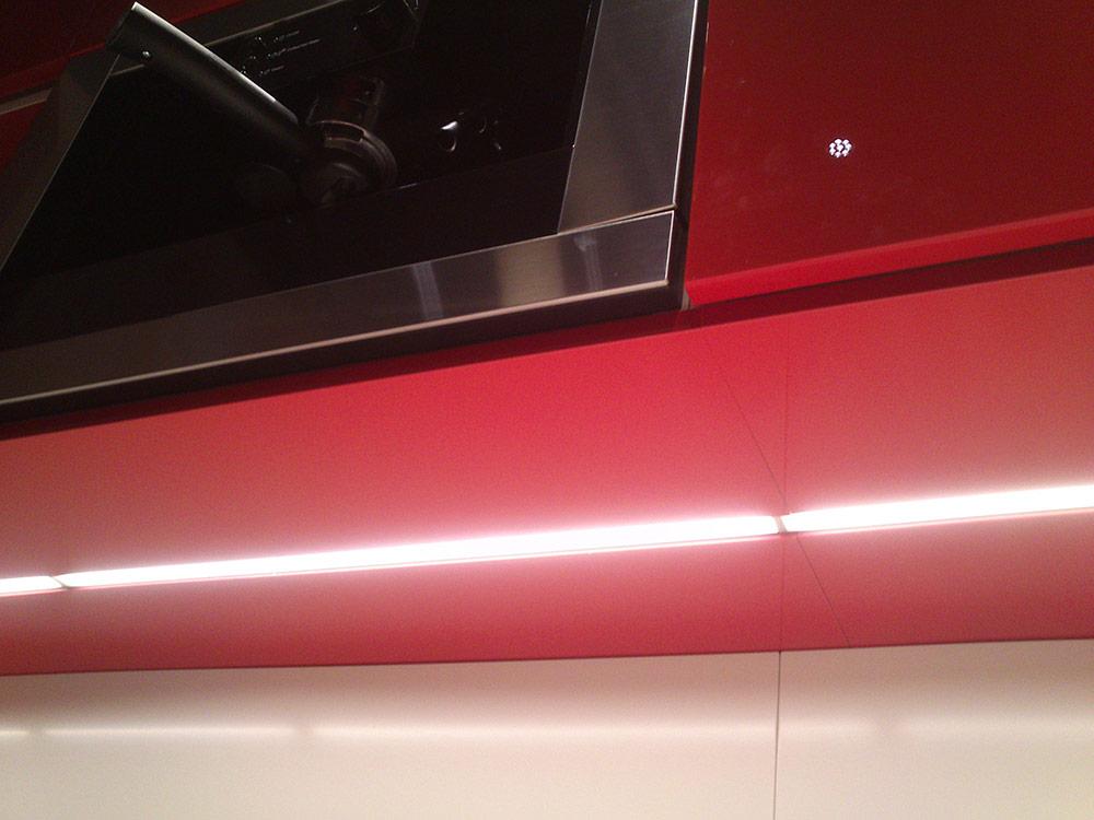 nowe kuchnie ikea metod, oświetlenie podszafkowe IKEA