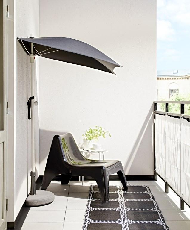 jak urz dzi ma y balkon w jak wn trze. Black Bedroom Furniture Sets. Home Design Ideas