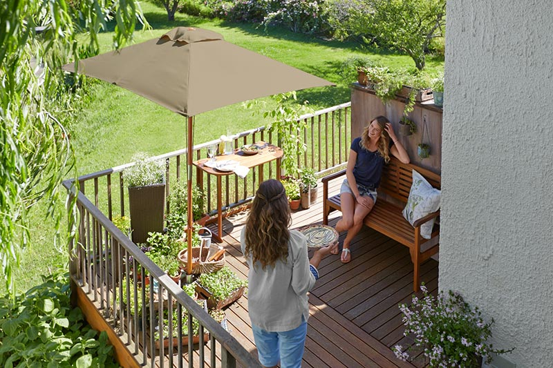 mini balkon jak urz dzi ma y balkon pictures to pin on. Black Bedroom Furniture Sets. Home Design Ideas