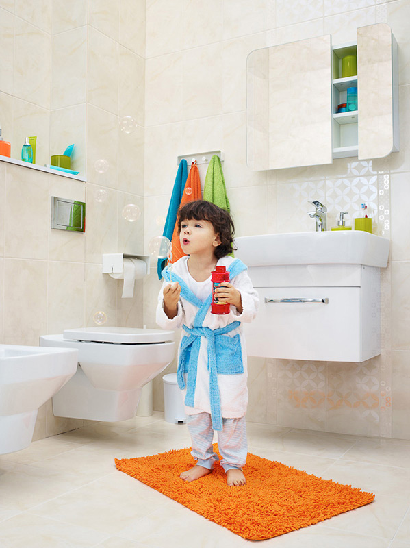 mała łazienka, jak urządzić małą łazienkę