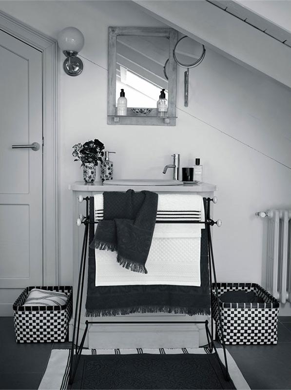 wnętrza biało-czarne, biało-czarne aranżacje