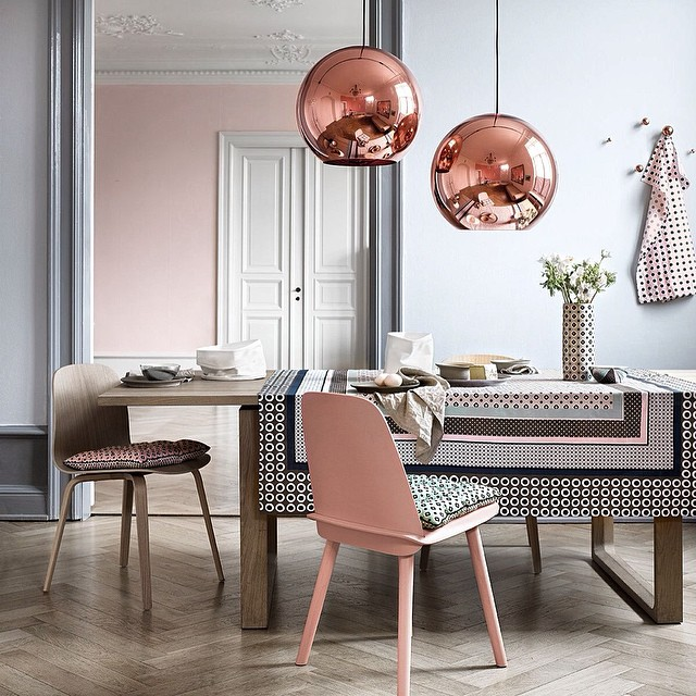 Tom Dixon, copper in interior