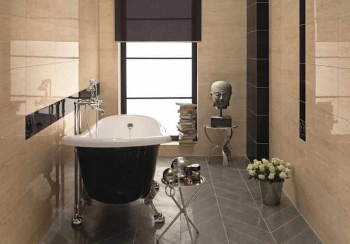 pokój kąpielowy, wanna retro