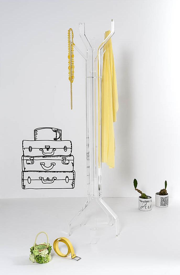 transparenty design, transparentne meble