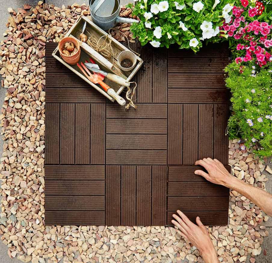 drewniana podłoga na balkonie – DIY, jak położyć drewnianą podłogę na balkonie