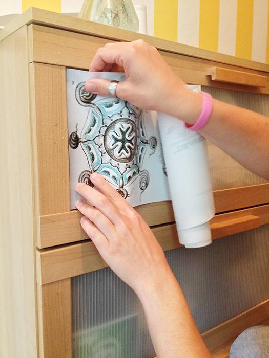 pomysł na komodę IKEA – DIY, pomysł na przedpokój