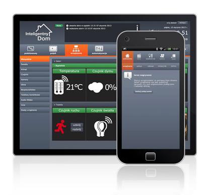 inteligentny dom -aplikacja
