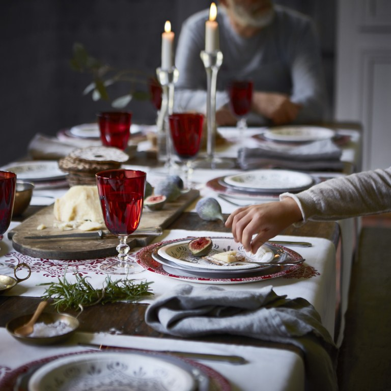 nietypowe aranżacje  bożonarodzeniowe, skandynawskie aranżacje świąteczne