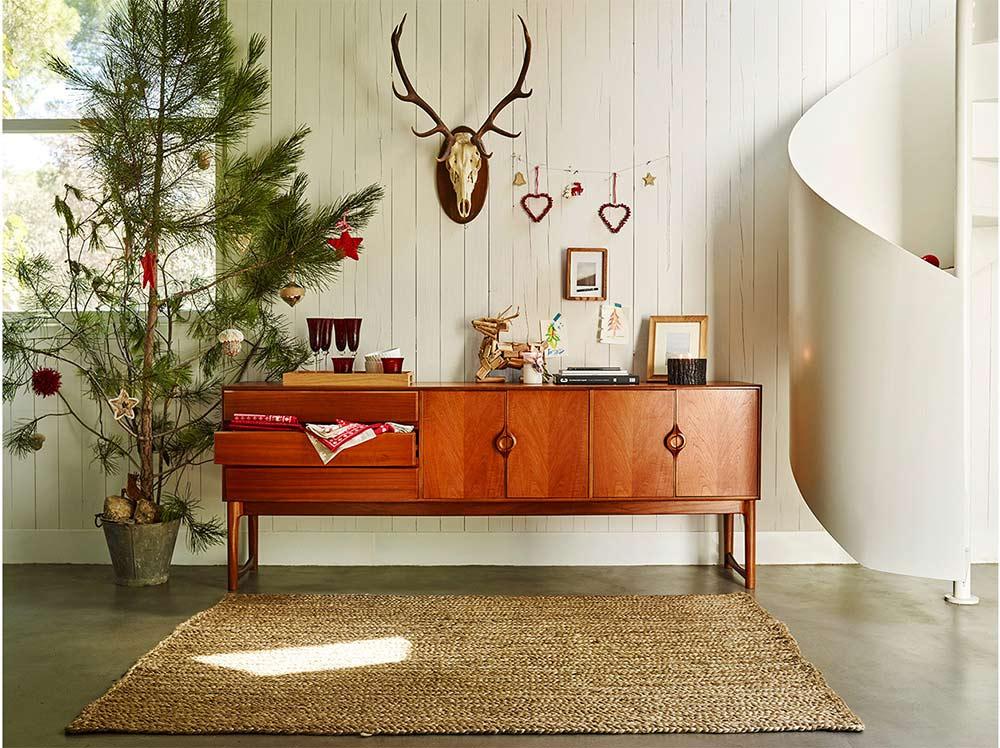 nietpowe aranżacje świąteczne, skandynawskie dekoracje świąteczne