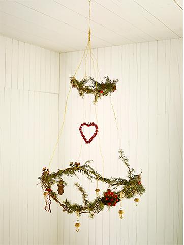 nietpowe aranżacje świąteczne, skandynawskie aranzacje swiateczne