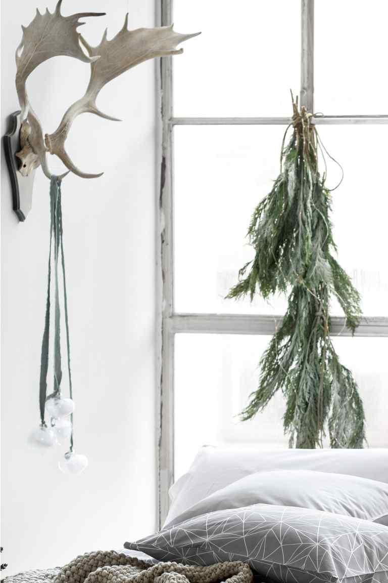 nietypowe aranżacje bożonarodzeniowe, skandynawskie aranżacje bozonarodzeniowe