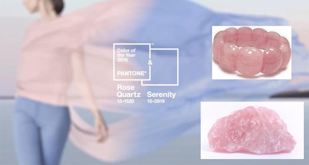 kolor roku 2016 - Rose Quartz i Serenity, różowo niebieskie zestawienie kolorystyczne