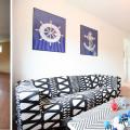 metamorofoza apartamentu morskiego, jak tanio odmienić wnetrze