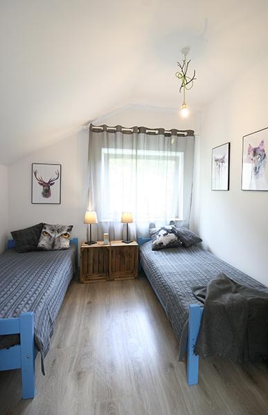 metamorfoza apartamentu leśnego, jak tanio urządzić wnętrze