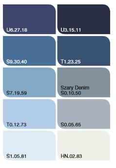 tapety w modnych kolorach roku 2017, kolor roku 2017, szary denim dulux