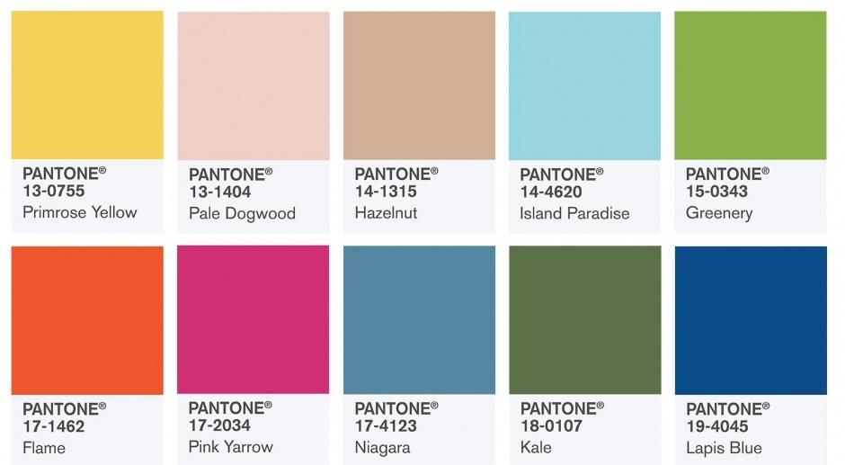 kolor roku 2017, wnętrza w modnych kolorach roku 2017