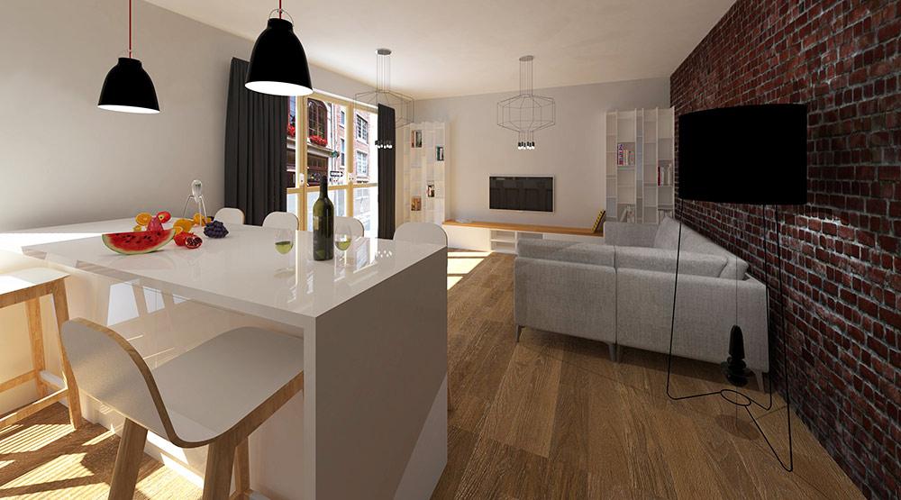 jak urządzić salon, pomysł na salon, projekt salonu PAVO DESIGN
