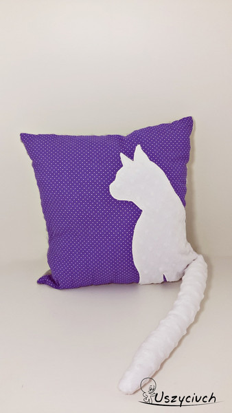poduszka z kotem i ogonem dawanda pl