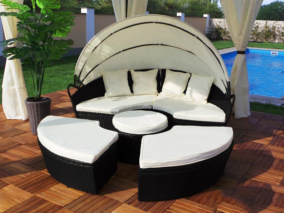 wybieramy leżaki i łóżka ogrodowe, jakie meble ogrodowe wybrać
